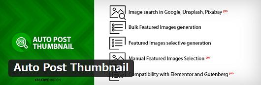 Auto Post Thumbnail